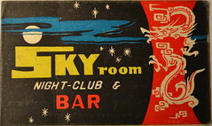 Sky Room (m20wc51) Tags: bar hongkong card kowloon wanchai