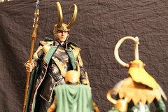 Photo Shoot7 (Black Rose Bride) Tags: toys loki marvellegends marvel minion theavengers hottoys emeraldino granddaddyloki lordkaiju