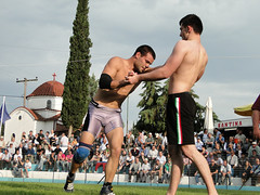 Nigrita/ Serres/ Greece/ 2013 (d.mavro) Tags: shirtless sexy sport fighter body wrestling traditional sensual arena greece strong serres grecoroman pehlivan gre athlet restling nigrita  pahlavan pehlwan
