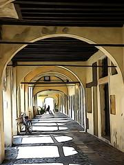 TREVISO 4 (aldofurlanetto) Tags: portico treviso buranei