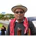 """Manuel<br /><span style=""""font-size:0.8em;"""">""""Soy Manuel, soy mam del departamento de Quetzaltenango y también representante del pueblo mam en el Consejo de Autoridades Ancestrales Mayas, Xincas y Garífunas  de Ixim Ulew. El día de hoy estamos acompañando a los hermanos de Totonicapán, a las familias de los hermanos que ofrendaran su vida exactamente hace un año en defensa del derecho del pueblo, en defensa del derecho del colectivo de los pueblos.  En este día el pueblo está triste; se conmemora un año de esto. Pero hemos venido aquí porque estamos completamente convencidos que el espíritu de ellos está con nosotros, la sangre de ellos que derramaron aquí hace un año nos fortalece, abona la solidaridad, abona la unidad de los pueblos, abona la lucha.  Estamos aquí diferentes pueblos, no solo el pueblo k´iché; está el pueblo mam, el pueblo q´anjob´al, el pueblo chuj, achí, poqomchí, el pueblo xinca, están los representantes del parlamento xinca; los hermanos ixiles.  Entonces, nos hemos unido porque hoy más que nunca la lucha sigue; siempre hemos dicho que mientras haya más represión habrá más organización. El pueblo ya está cansado con todo lo que está pasando, entonces una llamada a la juventud precisamente que tiene que unirse a la lucha.  Si los abuelos y abuelas están presentes y han ofrendado su vida es para que haya un bienestar para la juventud. Así como recordamos a los abuelos y abuelas que lucharon hace cientos de años y que tengamos un lugar donde vivir, un territorio donde vivir.  Entonces, nosotros que somos de esta generación estamos defendiendo lo poquito que queda aquí en Guatemala; por eso, un llamado a todos los universitarios para que no se les olvide, porque cuando están jóvenes son revolucionarios pero cuando salen, a veces se vuelven en contra del pueblo. Cuando ya son profesionales, cuando tienen un cargo se olvidan de esa universidad, de sus ideales de cuando eran jóvenes.  Entonces, una invitación a que la lucha sigue, hoy más que nunca nos v"""
