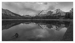 Wedge Pond - Alberta Canada (twistednoodle) Tags: 2016 canada wedgepond reflection clouds storm rain mountains kathsalier sonya7rii