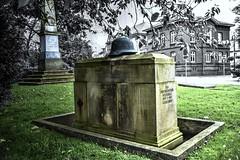 """A Memorial to the """"Fallen"""" of World War 1 (willkommen) Tags: germany lowersaxony niedersachsen ostfriesland eastfrisia photomatix memorial worldwar1 fallen jever"""