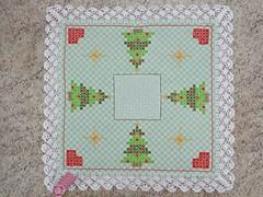 4 (AneloreSMaschke) Tags: tecido xadrez bordado natal artesanato handmade bordadoxadrez