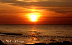 Sun Burn (David Paterson photos) Tags: sunset covesea beach lossiemouth morayfirth scotland skies