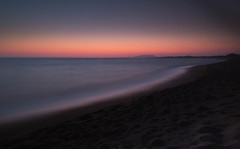 Calm after sunset, Costa Navarino. (martin.bowen68) Tags: greece costa navarino sunset blur sea