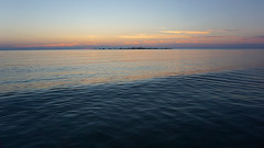 Two Weeks of Sunsets: Subtle Shades, August 4, 2016 (Craig James White) Tags: canada ontario brucecounty saugeenshores southampton lakehuron sunset clouds afterglow
