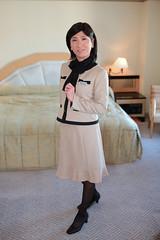 Office uniform 1511_2_02 (akichan980) Tags: crossdressing crossdresser  officelady businesswoman ol   uniform   japanese