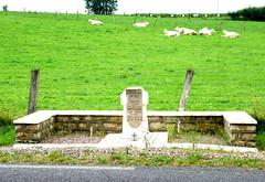 Gaillefontaine - Monument aux hussards britanniques - 1944 (Philippe Aubry) Tags: normandie seinemaritime paysdebray gaillefontaine monument mmorial secondeguerremondiale libration hussards hussardsbritanniques