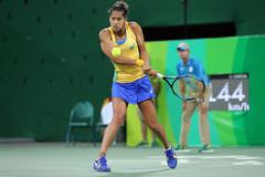 Teliana Pereira vs Caroline Garcia (FRA) (cbtenis) Tags: olympics sport tennis garcia pereira rio brazil riodejaneiro rio2016 2016 olympicgames