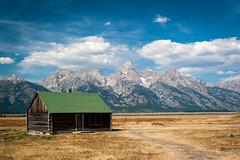 Mormon Row (Chen Yiming) Tags: nationalpark wyoming park nps anniversary landscape nature mountain grandteton tetonrange mormonrow mormon