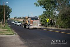 Dickinson District Projects (NDDOT Photos) Tags: dickinsondistrict constructionprojects trucktraffic semitruck amidon nd usa