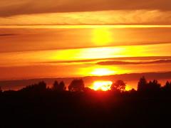 Abendstimmung 2 (dersumah) Tags: natur farben himmel sonne abendsonne