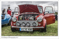 1998 Rover Mini (Paul Simpson Photography) Tags: mini car classiccars carshow transport bartonuponhumber britishcars august2016 sonya77 paulsimpsonphotography imageof imagesof photosof photoof smallcar vintagecar vintagecarshow vehicle redmini 1990s