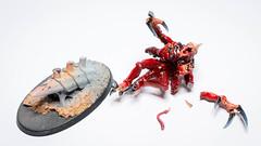 Broodlord: Cursed (Will Vale) Tags: 28mm 40k scifi genestealer tyranid gamesworkshop wh40k tyranids broodlord