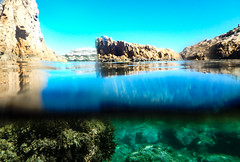 L'escala Montgo Playa (macpeloup) Tags: espagne lieux lescala mar mer sea bluesea marazul underwater sousleau submarino