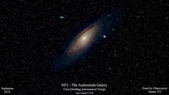 M31_20160911_HomCavObservatory (homcavobservatory) Tags: m31 m32 m110 dslr canon autoguider andromeda galaxy homcav observatory astronomy astrophotography