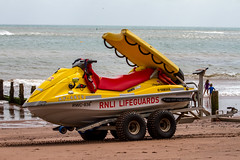 RNLI Lifeguards - Teignmouth (Marklucylockett) Tags: 2016 marklucylockett august uk devon seaside canon7d sea beach teignmouth rnlilifeguards rnli jetski