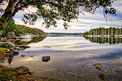 Storevik, Norway (Vest der ute) Tags: norway rogaland ryksund seascape landscape boats sailboats tree reflections mirror fav25 fav200