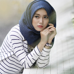 Years (a.k.a Rujakandroid.) Tags: people hijab outdoor girl