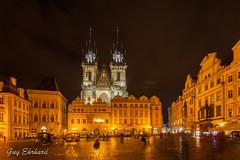 IMG_3142 (guyehrhard) Tags: prague nuit place illumination eglise
