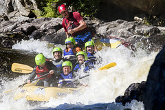 _7D28333 (Simon Wootton) Tags: sport rafting grantully water whitewater splash speed perth river rivertay danger scotland