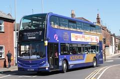 Alexander-Dennis Trident2 Enviro400 (DennisDartSLF) Tags: kingslynn bus alexanderdennis trident2 enviro400 enviro 33806 first easterncounties x1excel yx63ljl