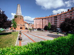 Plaza Saralegi (mikeselsewhere) Tags: 2016 europe bilbao spain plaza plazasaralegi mine kiln furnace sanluis saralegi