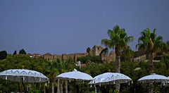 Alcazaba de Mlaga (portalealba) Tags: mlaga magiccity andaluca espaa spain portalealba pentax pentaxk50 1001nights