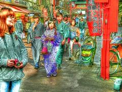 Tokyo=366 (tiokliaw) Tags: anawesomeshot blinkagain creations discovery explore flickraward greatshot highquality inyoureyes japan outdoor photoshop recreaction supershot teamworks walkway