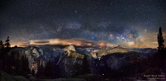 Milky Way above Yosemite Valley (CISSO) Tags: galaxie voie lacte paysage sky nature