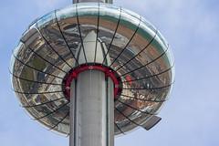 Observation Tower (scarlet-pimp) Tags: verticalpier britishairways attraction tower i360 verticalcablecar marksbarfield observationtower disc britishairwaysi360 brightonbeach kingsroad brighton