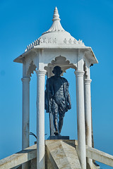 gandhi (Kiritan Flux) Tags: puducherry pondy tamilnadu india travel journey honeymoon