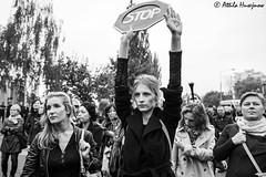 _ATI1152 (attila.husejnow) Tags: black protest blackmonday monday warsaw poland women woman abortion against demonstrate demonstration