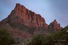 Last light in Zion National Park - Utah (Freshairphotography) Tags: zion zionnationalpark utah nationalpark nationalgeographic nature mountain afterglow sunset colorful evening park usa