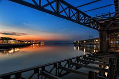 _DSC7303-3 (jsanchezq65) Tags: sunrise amanecer muelle river reflejos reflection huelva