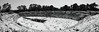 Siracusa_Pano_2_7144_fused (Dubliner_900) Tags: olympus omdem5markii panasoniclumixgvario714mmf4asph micro43 siracusa siracuse sicilia sicily anfiteatroromano bw biancoenero monochrome hugin panorama panoramica cilindrica cylindrical