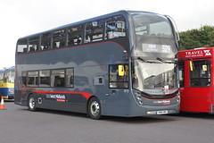 WEST MIDLANDS 6773 SN66WBU DONINGTON PARK 250916 (DavidsTransportPix) Tags: sn66wbu alexanderdennis e400 enviro400 mmc travelwestmidlands westmidlandstravel platinum doubledeckerbus showbus2016
