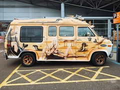 not white van man (chutney bannister) Tags: van vanart belvedere carpark bq london londonist