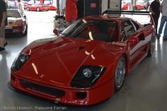 Passione Ferrari 2016 - Ferrari F40 LM (Si 558) Tags: f40 f40lm ferrarif40 passione ferrari silverstone 2016 passioneferrari worldcars