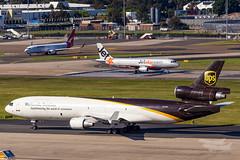 N276UP UPS MD11F 16R YSSY-7132 (A u s s i e P o m m) Tags: sydney newsouthwales australia au ups md11f mcdonnelldouglas syd yssy sydneyairport
