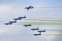 DSC_5588 (sauliusjulius) Tags: nato days ostrava 2016 czech air force september 17  18 leos janacek airport osr lkmt frecce tricolori 313 gruppo addestramento acrobatico aermacchi mb339
