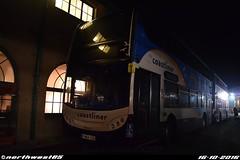 15986 (northwest85) Tags: stagecoach worthing coastliner 700 yn64 xso 15986 scania alexander dennis adl enviro 400 bus depot yn64xso