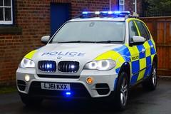 LJ61 KXX (S11 AUN) Tags: northumbria police bmw x5 anpr traffic car roads policing unit rpu motor patrols 4x4 999 emergency vehicle lj61kxx