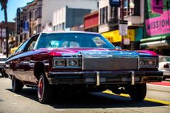 Life in the Mission (Thomas Hawk) Tags: america california flickrphotowalk kingofthestreets mission missiondistrict photowalk sanfrancisco sanfranciscolowridercouncilkingofthestreet usa unitedstates unitedstatesofamerica westcoast auto automobile car lowrider fav10 fav25 fav50 fav100