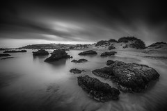 Elafonisi Crete (ANG Imagery) Tags: lowlight noperson outdoor dusk 10stopper ndfilter longexposure elafonisi seascape beach blackandwhite monochrome