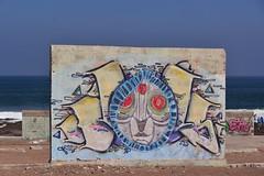 Three Eyed Crow (Ctuna8162) Tags: playa beach antofagasta grafitti painters art