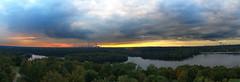 Duisburg 6-Seen-Platte (Jo Dudek) Tags: duisburg himmel wasser wald sonnenuntergang sonne wambach bäume landschaft natur outdoor panorama sechsseenplatte wedau wolken skyline