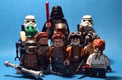 The Shadow Of The Dark Lord (Supremedalekdunn) Tags: star wars lego darth vader stormtroopers galactic empire