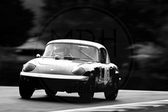 Mia Flewitt/Neil Myers - Lotus Elan (MPH94) Tags: oulton park cheshire north west motorsport motor sport race racing motorracing auto car cars october photography canon 500d cscc classic sports club special saloons modsports adams page swinging sixties black white monochrome mia flewitt neil myers lotus elan